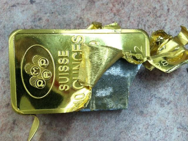 fake gold - how to spot it