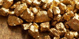 natural gold nuggets