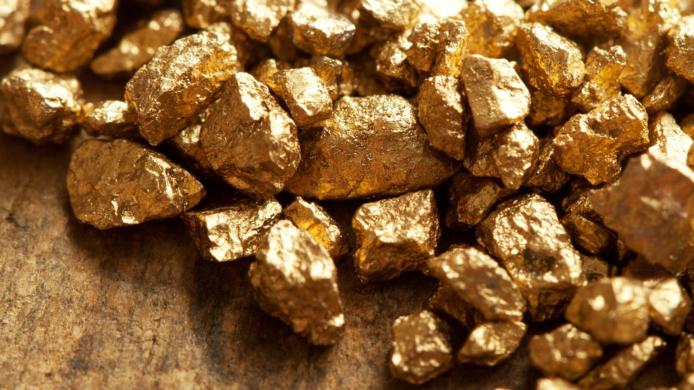 natural gold nuggets