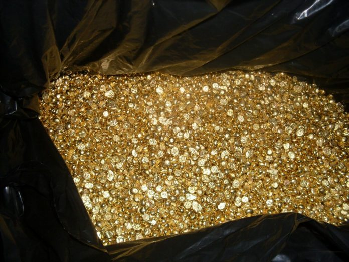 real physical gold