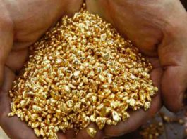 Congo gold trader
