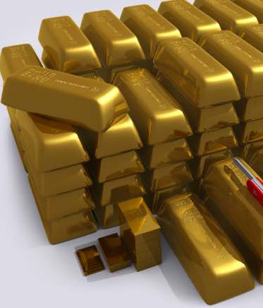 USA gold bars prices