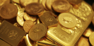 Arabic gold coins