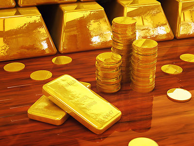 Arabic gold coins