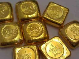 gold ounce price