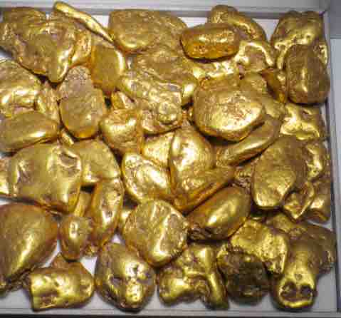 natural USA gold nuggets for sale